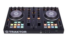 """Native Instruments Traktor Kontrol S2 MKII, DJ Audio Interface, Controller and Traktor Pro2 Software, DJ-Performance-System with 2 Channels thomann + Sample Deck-Channel, compact Controller based on the S4, 3-Band-EQ, 4 Hot Cue-Buttons, Jog-Wheels for Track-Control, 2 Effec Sections with more than 30 Effects, build in USB Audio-Interface, 2x Stereo-Out 1/4"""" TRS balanced (Master and Monitor), ..."""