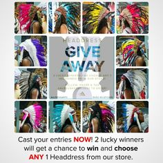 On the 27th 2 lucky followers will win. If you haven't entered yet, make sure to place your entry now. Please remember there is maximum 1 entry per person. Don't miss out on your chance to win your choice of ANY 1 headdress from our store! #aureusarts #headdress #giveaway #aureusartsgives3 #edm #shop link in profile