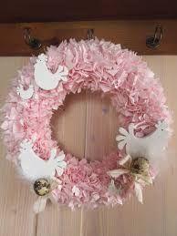 Výsledek obrázku pro vypichované věnce z látky Floral Wreath, Wreaths, Home Decor, Floral Crown, Decoration Home, Door Wreaths, Room Decor, Deco Mesh Wreaths, Home Interior Design