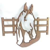 Cavalo Cerca - Mdf