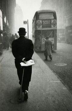 """U.K.  London, 1951-1953 From """"London/Wales"""" // Robert Frank"""