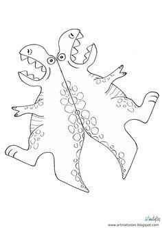Artmatostes Dinosaur Crafts Kids, Dinosaur Theme Preschool, Dinosaur Activities, Dinosaur Party, Dinosaur Birthday, Preschool Crafts, Diy For Kids, Crafts For Kids, Dinosaur Pattern