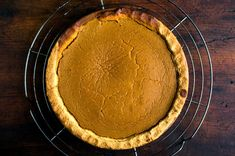 Pumpkin pie (Photo: Andrew Scrivani for The New York Times)