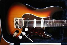 Heavily customized Fender Strat with a Kahler!  www.kahlerusa.com