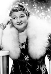 """Sophie Tucker This gutsy, irrepressible """"Jazz Age Hot Mamma"""" was born Sophie Kalish in Russia in 1884 just as her family was about to emigrate to the United States. They left when she was a mere three months old, settling in Hartford, Connecticut. She started performing as a youngster in her parent's small restaurant, occasionally singing and playing the piano for tips. Marrying in her teens to a ne'er-do-well, she was forced to continue at the restaurant to support a family of three."""