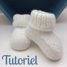 Comme promis sur Instagram, je vous livre mes explications pour tricoter de  jolis chaussons pour 1f4daab9969