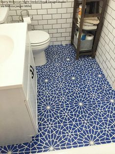 Tips before Buying Vanity Cabinets for your bathroom - My Romodel Bathroom Floor Tiles, Tile Floor, Moroccan Tile Bathroom, Moroccan Tiles, Downstairs Bathroom, Feng Shui, Decor Interior Design, Interior Decorating, Moroccan Wall Stencils