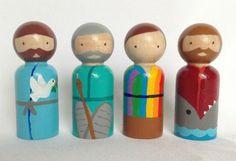 Old Testament Noah, Moses, Joseph, Jonah
