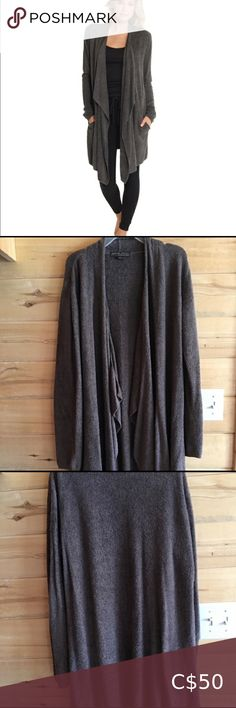 Barefoot Dreams Cardigan Beautiful grey/brown cardigan from barefoot dreams, can also be worn as a wrap. So comfortable and nice to wear after a long day. In new condition. Barefoot Dreams Sweaters Cardigans Barefoot Dreams Cardigan, Ugg Bailey Button, Michael Kors Selma, Brown Cardigan, Brown And Grey, Cardigans, Sweaters For Women, Nice, How To Wear