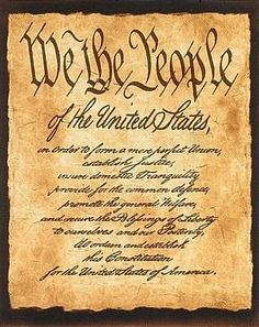 The Constitution, we all need to read this!