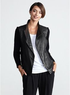 Oh boy - I really like this... a lot. A WHOLE LOT! EILEEN FISHER's Looks We Love. How to Wear the Fall Trends.