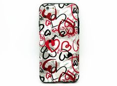 iPhone6 leather case - Heart