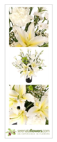 """Minty Fresh"" flower bouquet #lilies #thankyou"
