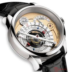 Greubel Forsey - very interesting complication with a twist on conventional timekeeping.
