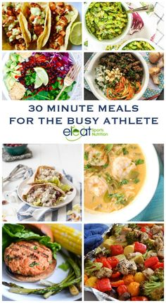 30 Minute Meals For The Busy Athlete — Eleat Sports Nutrition, LLC