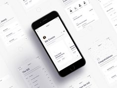 💵 Splitbill Mobile App designed by Lee-Roy Carelse. Connect with them on Dribbble; the global community for designers and creative professionals. Web Design, App Ui Design, Interface Design, User Interface, Layout Design, Mobile App Ui, Mobile Web, Ui Design Mobile, Card Ui