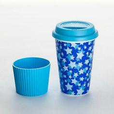 "Coffee-to go-Becher ""Blue Star"
