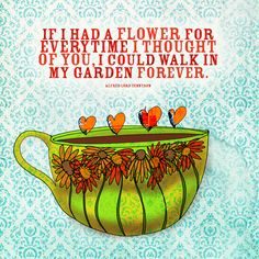 "Happy Wednesday! The middle of the week, keep walking forward toward your garden, called ""the weekend"". What my #coffee says to me September 19th. Cheers"