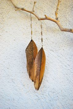 Pheasant Feathers With Sterling Bead Chain  Style by jessamurph, $30.00