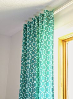 DIY Back Tab Curtain Tutorial