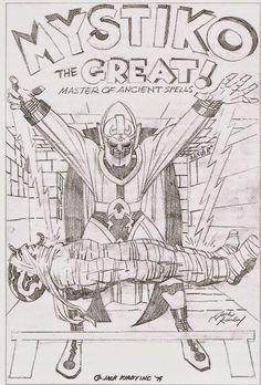 Cap'n's Comics: Mystiko by Jack Kirby