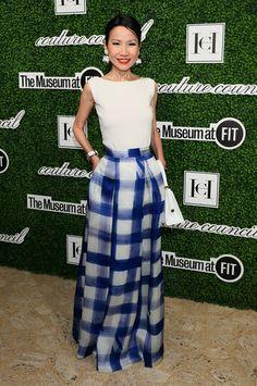 Christina Pitanguy Long Skirt - Long Skirt Lookbook - StyleBistro