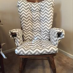 Loved my order, everything was perfect. The shop even helped guide me on how to appropriately take the exact measurements I needed. It was tricky with my antique rocker but it ended up look just like the picture I saw on the shop website!