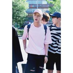 vicky, staystrongtop ❤ liked on Polyvore featuring bts, jin, k-pop, kpop and people