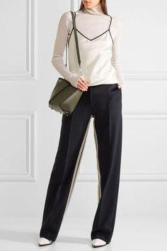 Proenza Schouler | Hex mini paneled leather shoulder bag | NET-A-PORTER.COM