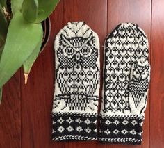 Palmdale Owls knitting project shared on the LoveKnitting Community