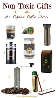 If you're buying gifts for organic coffee lovers, go for these top non-toxic gifts to make sure you don'truin their morning buzz with unwanted chemicals!