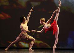 Iana Salenko and Hernán Cornejo, 2013 Dance Open Ballet Festival, Saint Petersburg, Russia