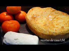 PAN DE QUESO CASERO RÁPIDO Y CON TRUCO PARA EL HORNEADO - YouTube Brunch, Cheese, Recipes, Cupcakes, Videos, Youtube, Onion Bread, Food Cakes, Deserts