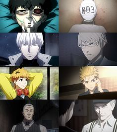 Tokyo Ghoul x Ajin About time someone noticed Ajin Anime, Manga Anime, Anime Art, Tokyo Ghoul, Anime Crossover, Kaneki, Demi Human, Another Anime, Anime Kunst