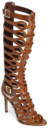 "Vince Camuto ""Omera"" Tall Gladiator High Heel Sandals in tan (Altuzarra + Gianvito Rossi knockoffs)"