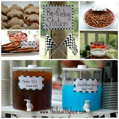 Race Car Party Food Ideas | Race car party ideas! | Product / Opportunity Links {URL's Excepted}