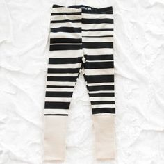 aarrekid organic stripe leggings