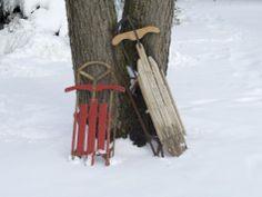 sleds like this :)