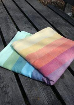 "Sustain.able Girasol ""Rainbow Springs"" Wrap , (http://www.sustainablesprouts.com/girasol-rainbow-springs-wrap/)"