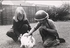 Brett with his sister Blandine, 1972 Brett Anderson, Britpop, Riding Helmets, Handsome, Face, Photography, Bands, England, Photograph