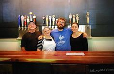 The staff of Pint and Barrel Drafthouse in Old Town Palestine - Palestine, Texas  (Source: KLTV)