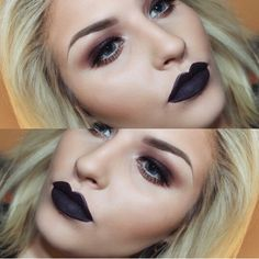 Love this black lip