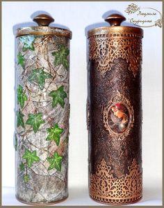 1 million+ Stunning Free Images to Use Anywhere Diy Bottle, Bottle Art, Bottle Crafts, Painted Wine Bottles, Bottles And Jars, Glass Bottles, Decoupage Box, Decoupage Vintage, Tin Can Crafts