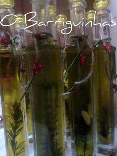 O Barriguinhas: Azeite Aromatizado (Alecrim, Alho e Malagueta)