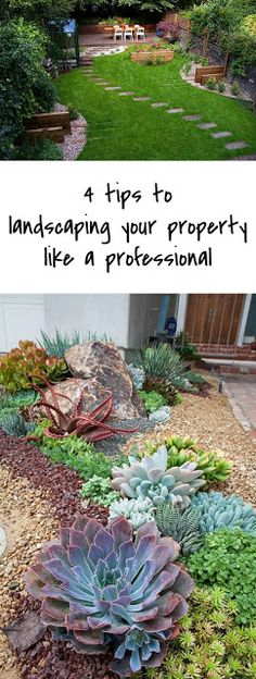 4 Tips to landscaping your property like a professional
