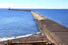 One of my favorite places to think!  Presque Isle in Marquette Michigan!