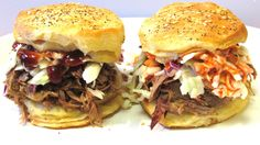 Pulled Pork Biscuits by The Wolfe Pit
