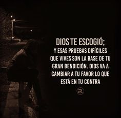 Dios te escogió Bible Verses Quotes, Life Quotes, Gods Not Dead, Catholic Quotes, Motivational Messages, Special Quotes, God Loves Me, Son Of God, Quotes About God