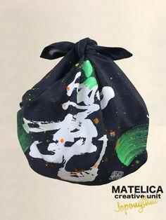 デニム風呂敷 70cm ko・to・da・ma 「麗」 #和モダン #書 #言霊 #デザイン #Japonythm #MATELICA  #calligraphy #風呂敷 #アート #Japan #Tokyo #furoshiki #Japonism