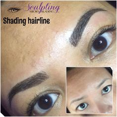 Shading Shadow On Diabetes Client  Microblading Brows